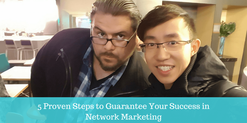 banner for 5 proven steps to guarantee your network marketing success